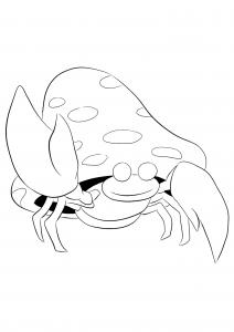 <b>Parasect</b> (No.47) : Pokemon (Generation I)