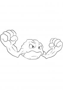 <b>Geodude</b> (No.74) : Pokemon (Generation I)