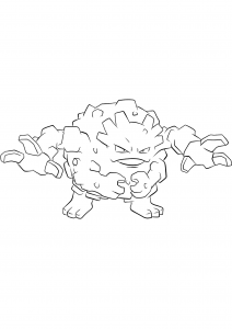 <b>Graveler</b> (No.75) : Pokemon (Generation I)