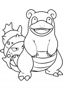 <b>Slowbro</b> (No.80) : Pokemon (Generation I)