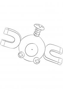 <b>Magnemite</b> (No.81) : Pokemon (Generation I)