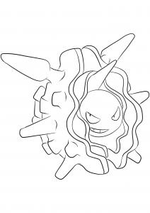 <b>Cloyster</b> (No.91) : Pokemon (Generation I)