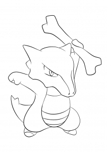 <b>Marowak</b> (No.105) : Pokemon (Generation I)