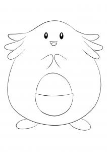 <b>Chansey</b> (No.113) : Pokemon (Generation I)