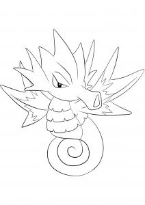 <b>Seadra</b> (No.117) : Pokemon (Generation I)