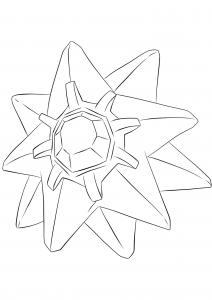 <b>Starmie</b> (No.121) : Pokemon (Generation I)