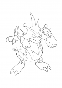 <b>Electabuzz</b> (No.125) : Pokemon (Generation I)