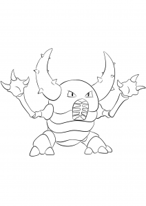 <b>Pinsir</b> (No.127) : Pokemon (Generation I)