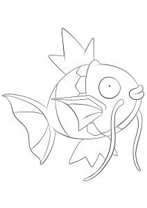 <b>Magikarp</b> (No.129) : Pokemon (Generation I)