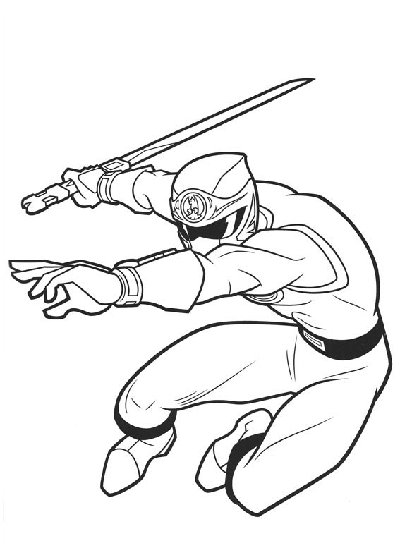 - Power Rangers For Kids - Power Rangers Kids Coloring Pages