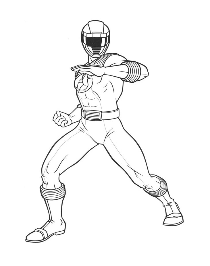 Power Rangers To Print For Free Power Rangers Kids Coloring Pages