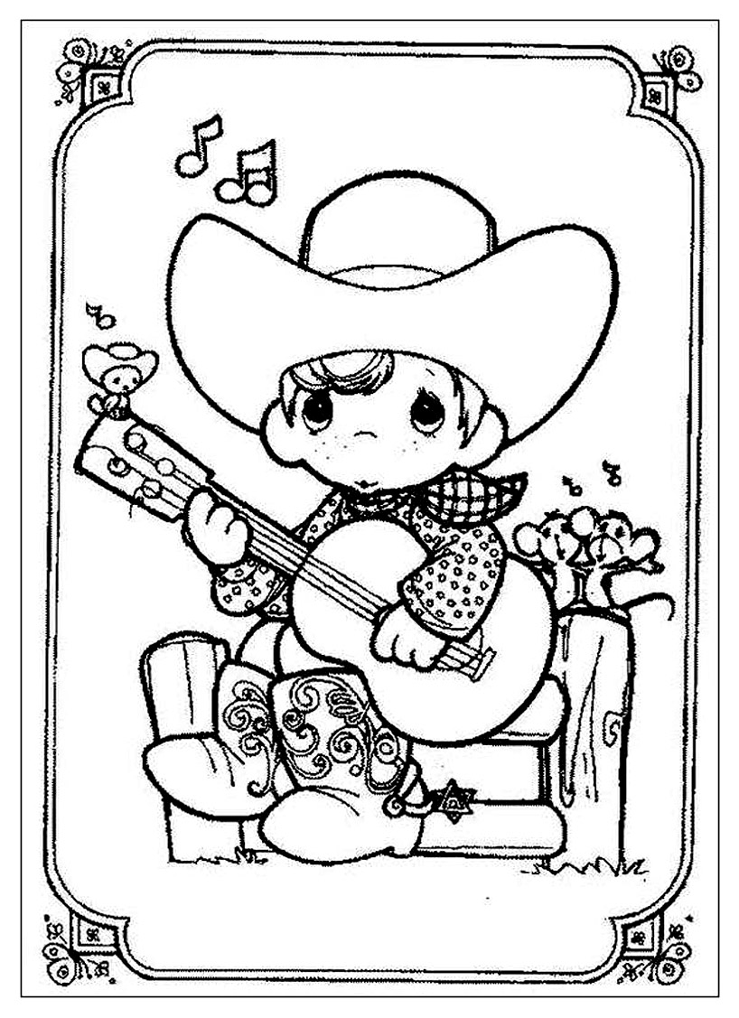 Beautiful Precious Time coloring page