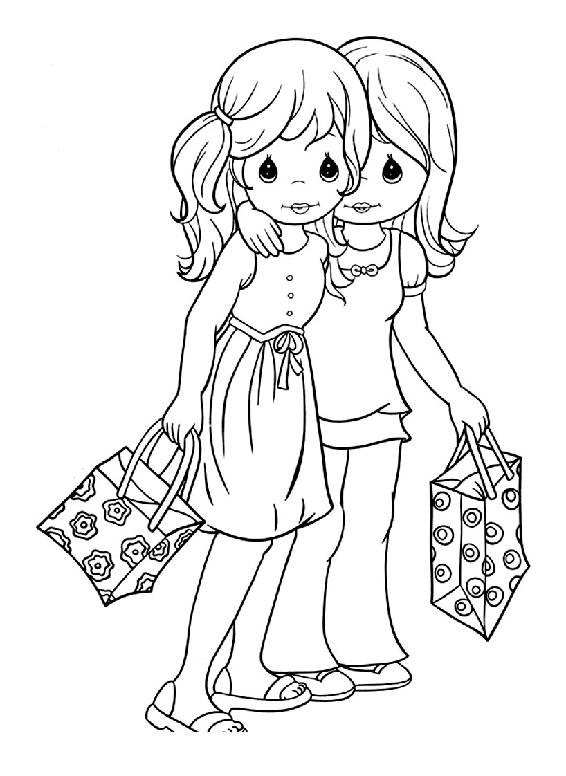 Precious Time coloring page to download