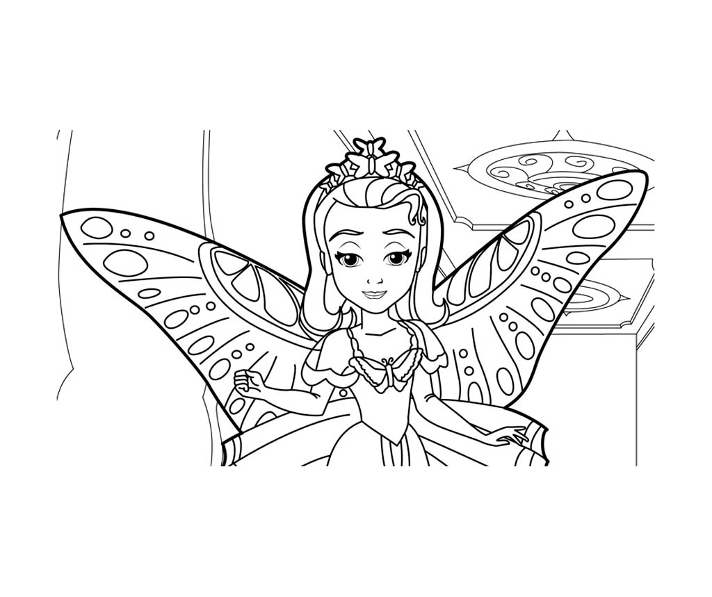 SofiaHalloween - Sofia the First Kids Coloring Pages