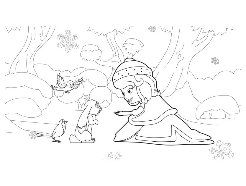 - Princes Sofia To Print - Sofia The First Kids Coloring Pages