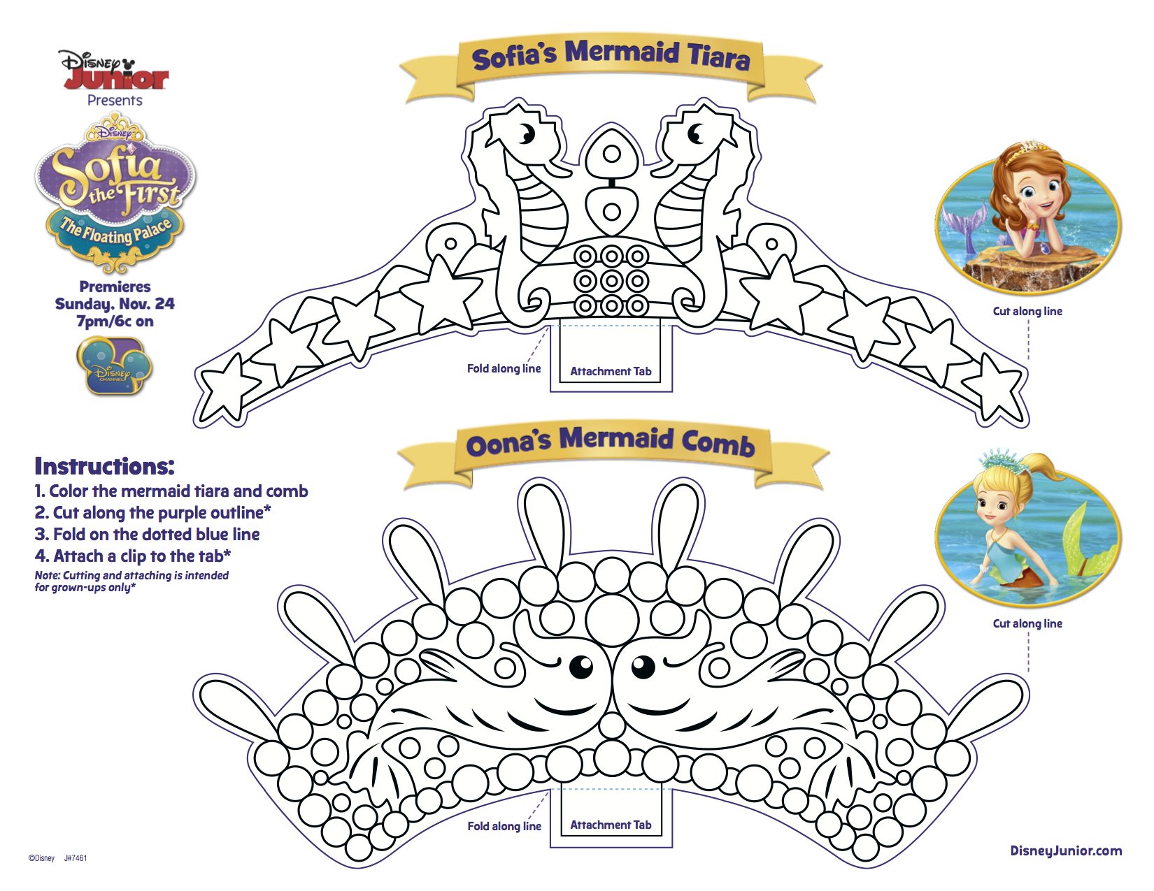 Princes sofia to print for free - Sofia the First Kids Coloring Pages