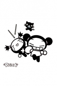 Coloring page pucca to download for free