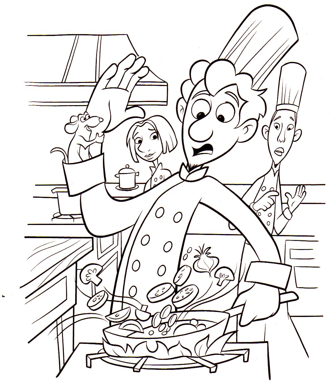 7700 Disney Ratatouille Coloring Pages Download Free Images