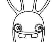 Raving Rabbids Coloring Pages for Kids