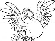 Rio 2 Coloring Pages for Kids