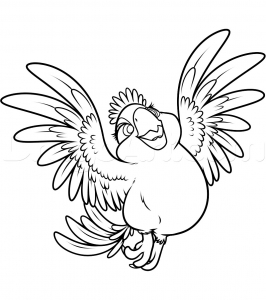 Coloring page rio 2 to print for free