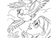 Rio Coloring Pages for Kids