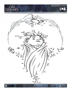 Coloring page rise of the guardians to download for free