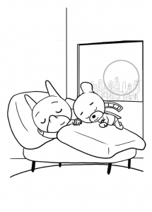 Coloring page sam sam to download