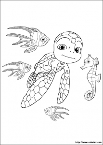 Coloring page samy to color for kids