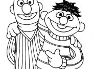 Sesame Street Coloring Pages for Kids