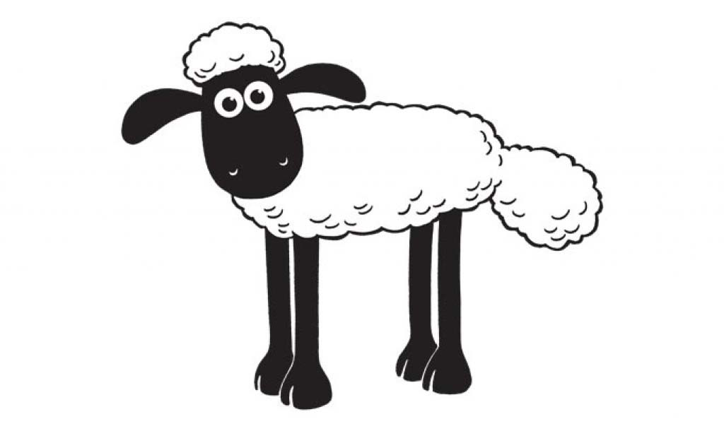 Shaun The Sheep To Print For Free Shaun The Sheep Kids Coloring Pages
