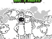Shaun The Sheep Coloring Pages for Kids