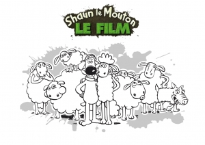 Coloring page shaun the sheep to color for children