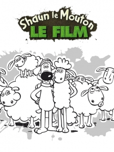 Coloring page shaun the sheep for kids