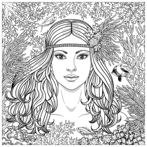Sirens Free Printable Coloring Pages For Kids
