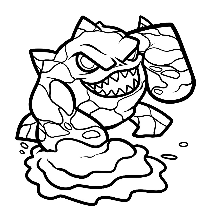 Skylanders To Download Skylanders Kids Coloring Pages