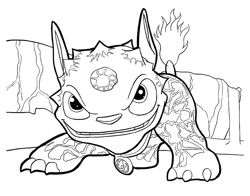 image about Skylanders Printable Coloring Pages named Skylanders in direction of print for totally free - Skylanders Children Coloring Internet pages