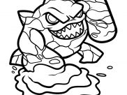Skylanders Coloring Pages for Kids