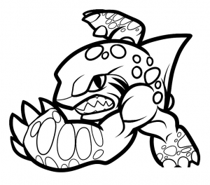 Coloring page skylanders to print for free