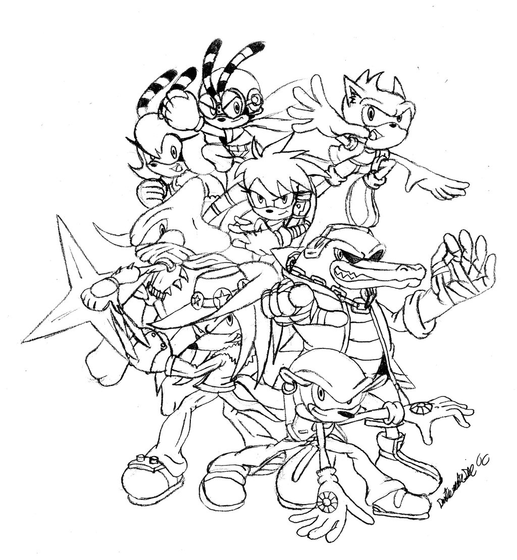 Sonic To Color For Children Sonic Kids Coloring Pages