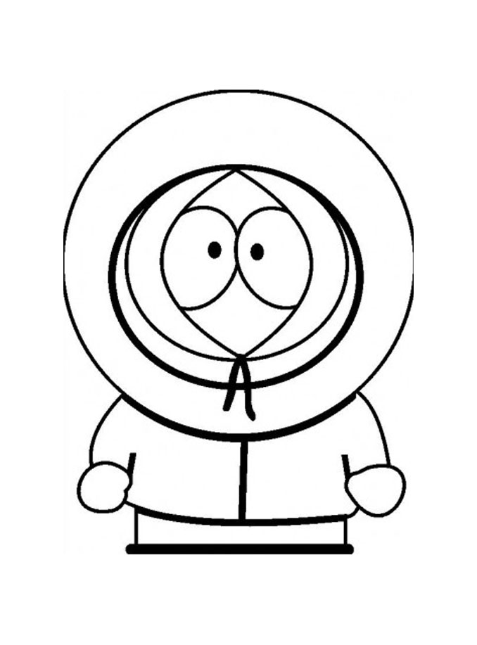 South park coloring page to print and color