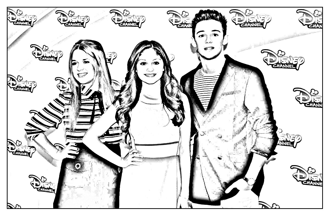Beautiful Soy Luna coloring page