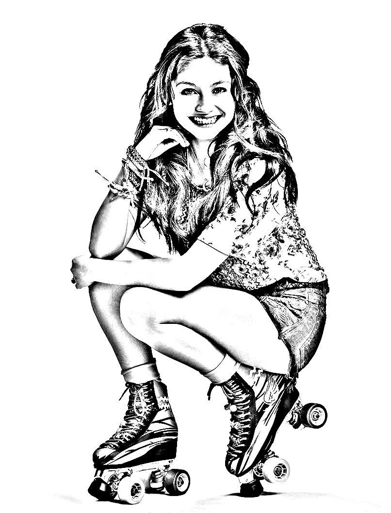 Soy Luna coloring page to download