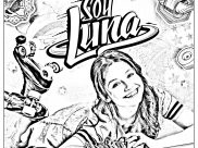 Soy Luna Coloring Pages for Kids