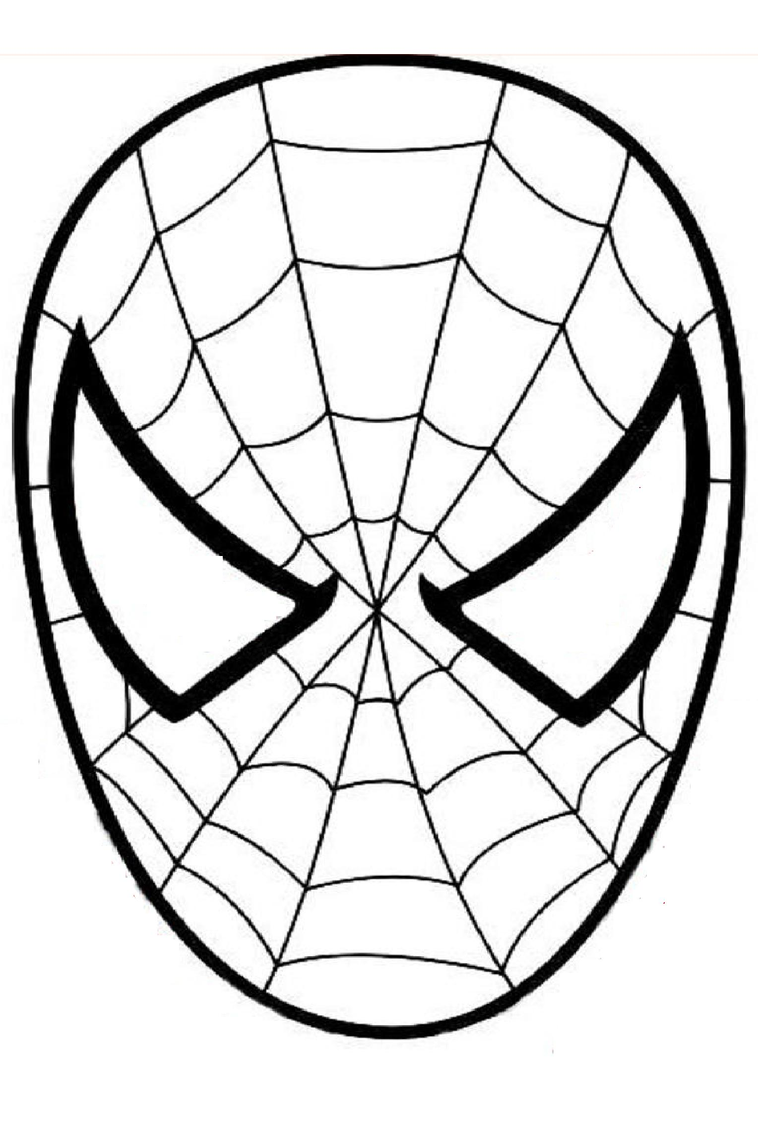 - Spiderman To Print - Spiderman Kids Coloring Pages