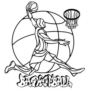 Sports Free Printable Coloring Pages For Kids