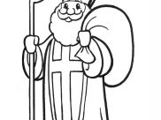 St Nicolas Coloring Pages for Kids