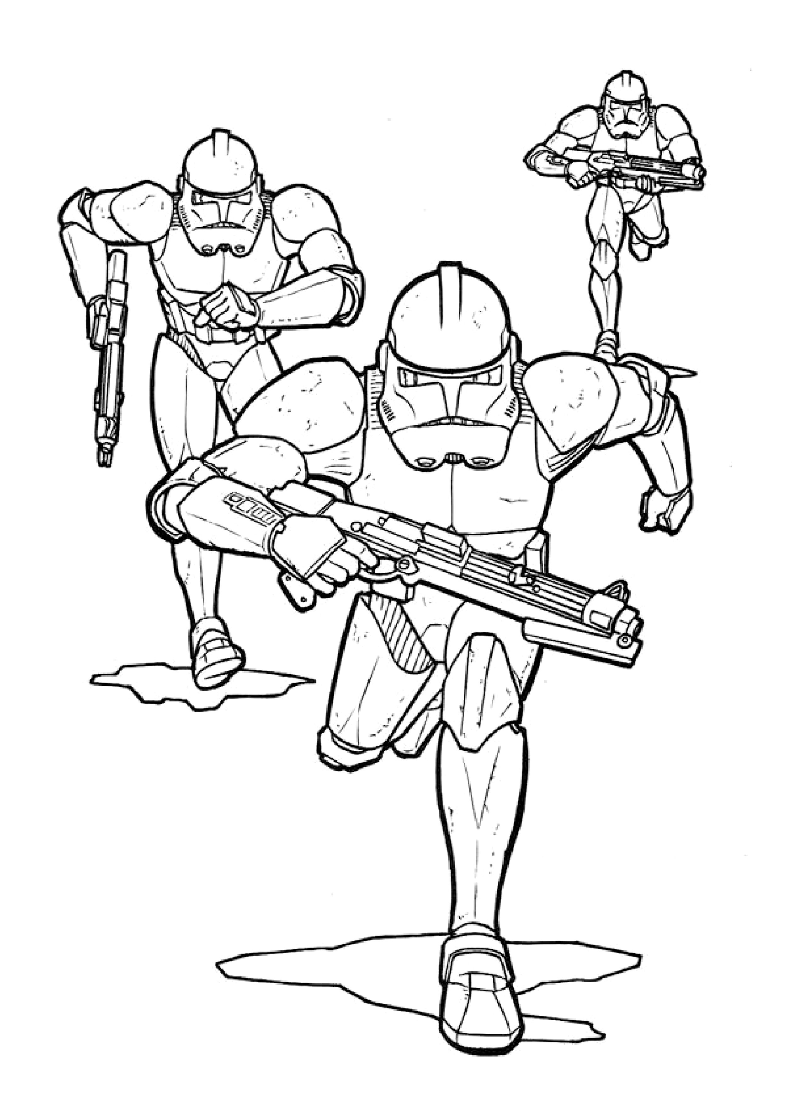Star wars to print - Star Wars Kids Coloring Pages