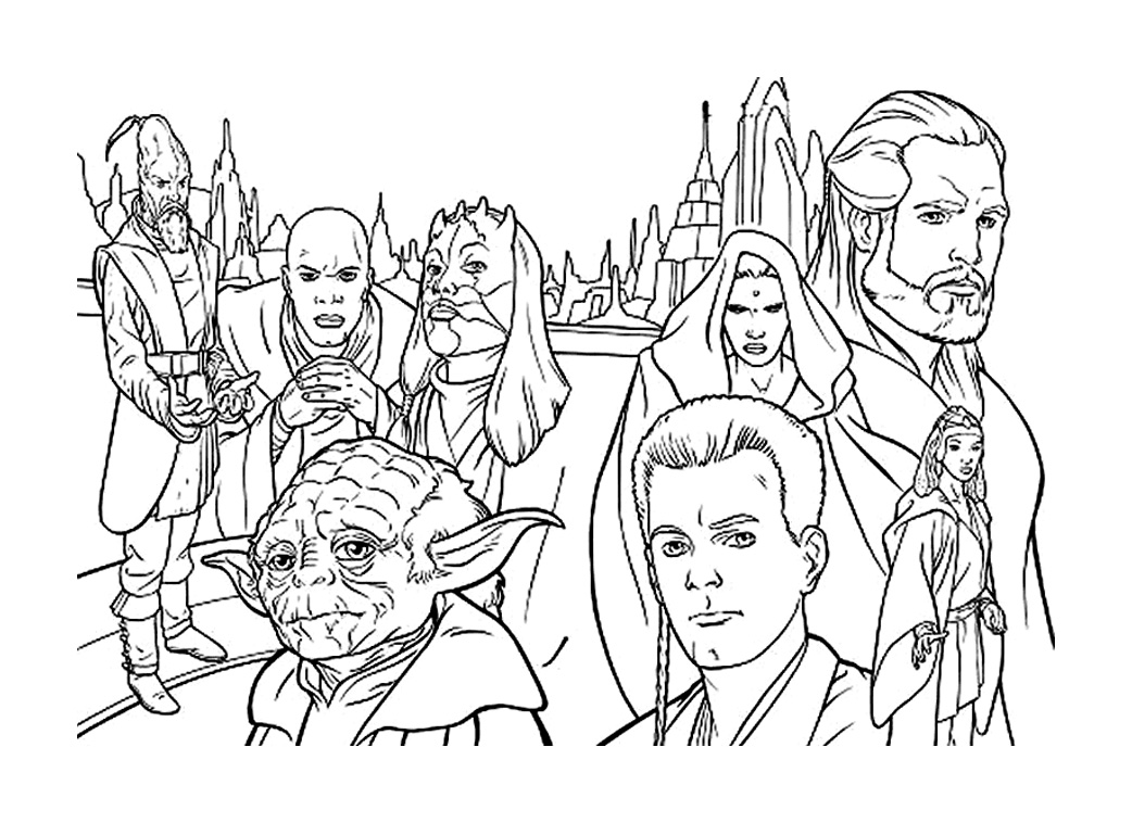 Star Wars Kids Coloring Pages
