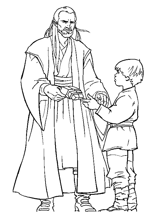 Star wars to download for free - Star Wars Kids Coloring Pages